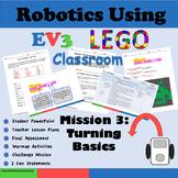 Lego Mindstorms EV3 Mission 3