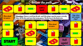 Lego Sight Word Game