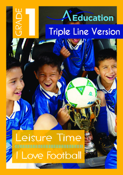 Leisure Time - I Love Football - Grade 1 (with 'Triple-Tra