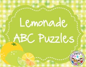 Lemonade ABC Puzzles