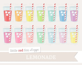 Lemonade Clipart; Drink, Water