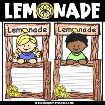 Lemonade Stand Craft Activity (Craftivity)