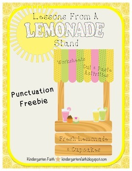Lemonade Punctuation Freebie