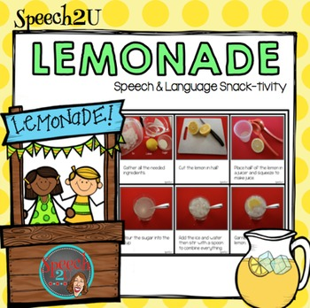 AAC, Core Vocabulary WH questions,, Sequencing, Lemonade S