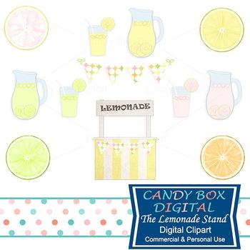 Summer Lemonade Stand Clip Art