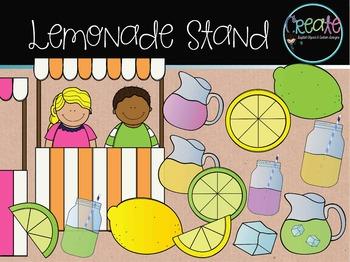 Lemonade Stand - Digital Clipart
