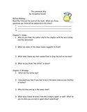 Lemonade War (Jacqueline Davies) comprehension questions/answers