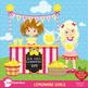 Lemonade Clipart, Lemonade stand clipart, Lemonade party c