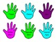 Lend a Helping Hand Classroom Donations-Blue, Purple, and Yellow