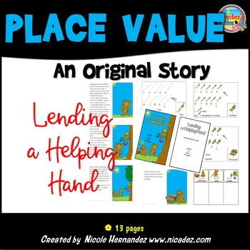 Place Value - Lending a Helpful Hand Simple Story