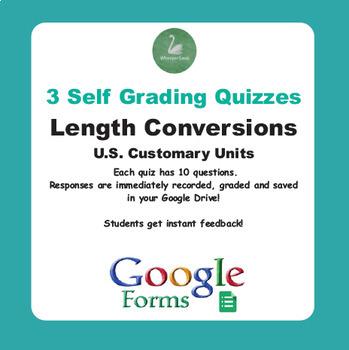 Length Conversions (U.S. Customary Units) - Quiz with Goog