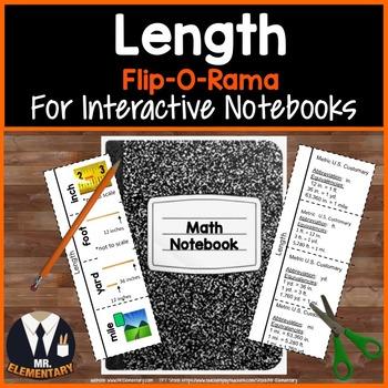 Length Vocabulary Interactive Notebook