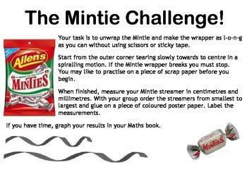 Length - The Mintie Challenge