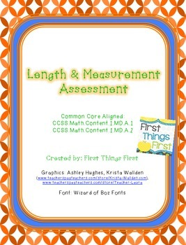 Length and Measurement Assessment