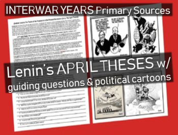 Lenin's April Theses: Russian Revolution primary source do