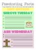 Lent Fact Sheet