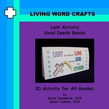 Lent Good Deeds Beads Activity for All grades