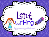 Lent Writing