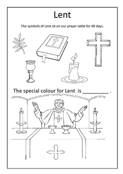 Lent for littlies