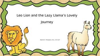"""Leo Lion """"L"""" Game"""