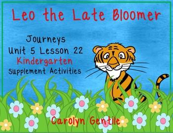 Leo the Late Bloomer Journeys Unit 5 Lesson 22 Kindergarte