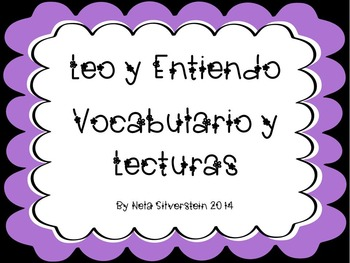Leo y Entiendo Vocabulario y Lecturas