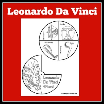 Leonardo Da Vinci Craft | Leonardo Da Vinci Activity | Ren