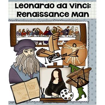 Leonardo da Vinci Clip Art