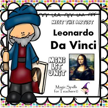 Leonardo daVinci - Meet the Artist - Artist of the Month -