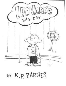 Leonard's Bad Day-printable book