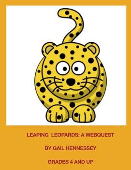 Leopards: Leaping Leopard Webquest