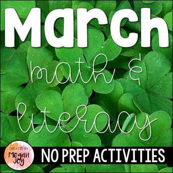 March Activity Pack
