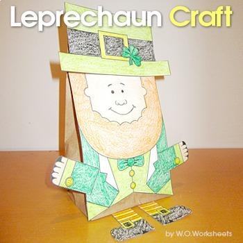 St. Patrick's Day Craft - Leprechaun