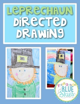 Leprechaun Directed Drawing for St Patrick's Day