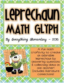 Leprechaun Glyph Activity (St. Patrick's Day Math & Langua