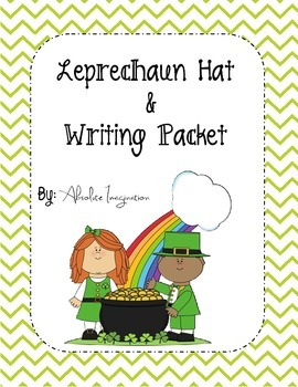St. Patrick's Day Leprechaun Hat and Writing Packet