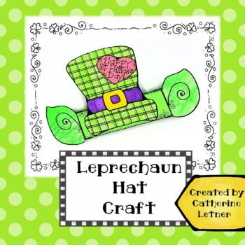 St. Patrick's Day Leprechaun Headband Hat Craft