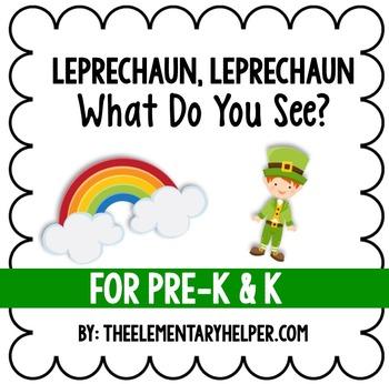 Leprechaun, Leprechaun Adapted Book for Preschool and Kind