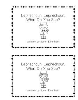 St. Patrick's Day Leprechaun Emergent Reader