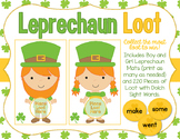 Leprechaun Loot - St. Patrick's Day Sight Words Game - Wit