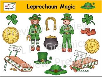 Leprechaun Magic Clip Art
