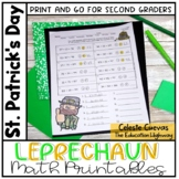 Leprechaun Math Printables