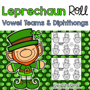 Leprechaun Roll {vowel teams & diphthongs!}