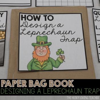 Leprechaun Trap Paper Bag Book