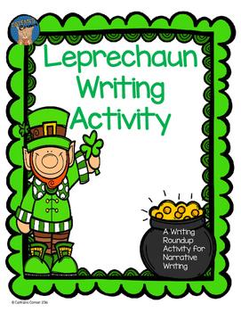 Leprechaun Writing Activity