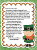 Leprechaun Writing Freebie