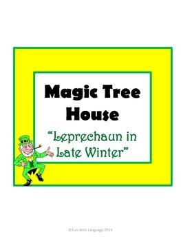 Leprechaun in Late Winter Magic Tree House #43 Comprehensi