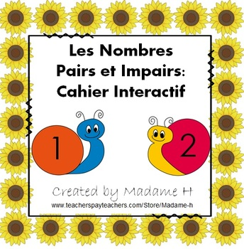 Les Nombres Pairs et Impairs: Cahier Interactif
