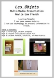 Les Objets - Multi-Media Presentation Project for Students