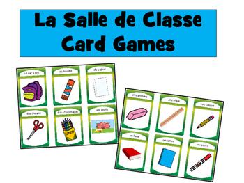 Les Objets de la Salle de Classe- Classroom Objects Vocab
